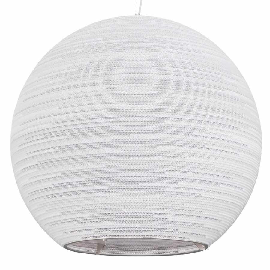 Graypants Arcturus White Scraplight Pendant Light