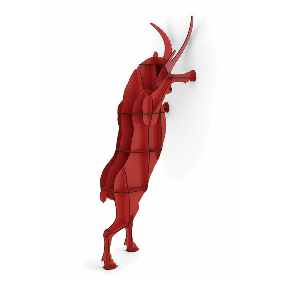 ibride Fausto Ibex Wall Storage - Red