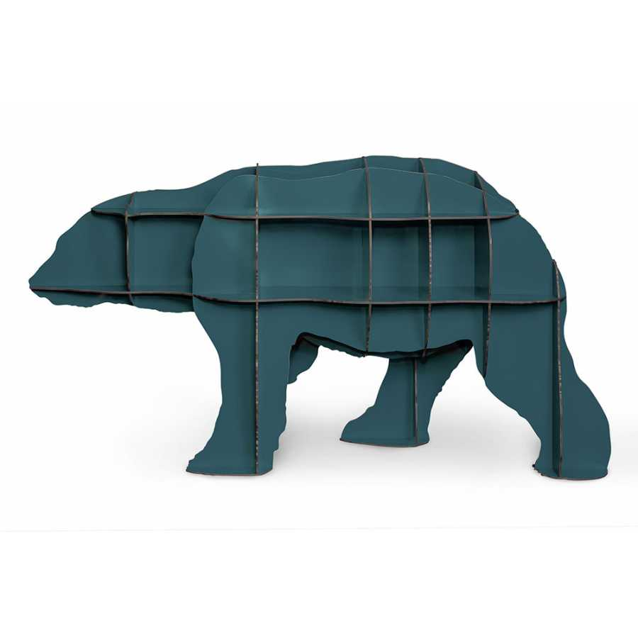 ibride Junior Polar Bear Bookcase - Blue
