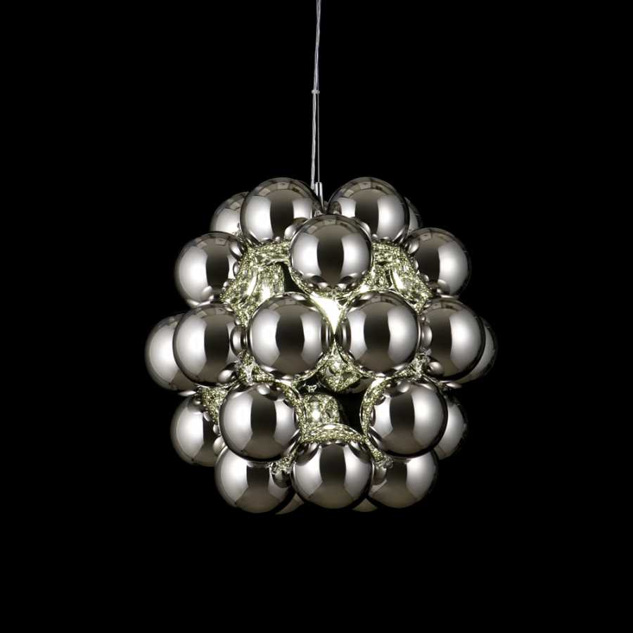 Innermost Beads Penta Pendant - Chrome