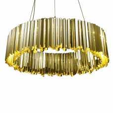 Innermost Facet Pendant Light - Polished Brass