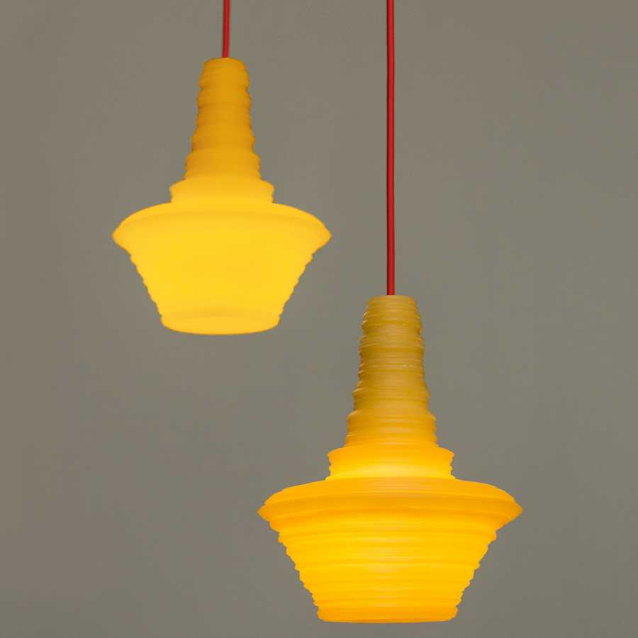 Innermost Stupa Pendant Lights - Lifestyle
