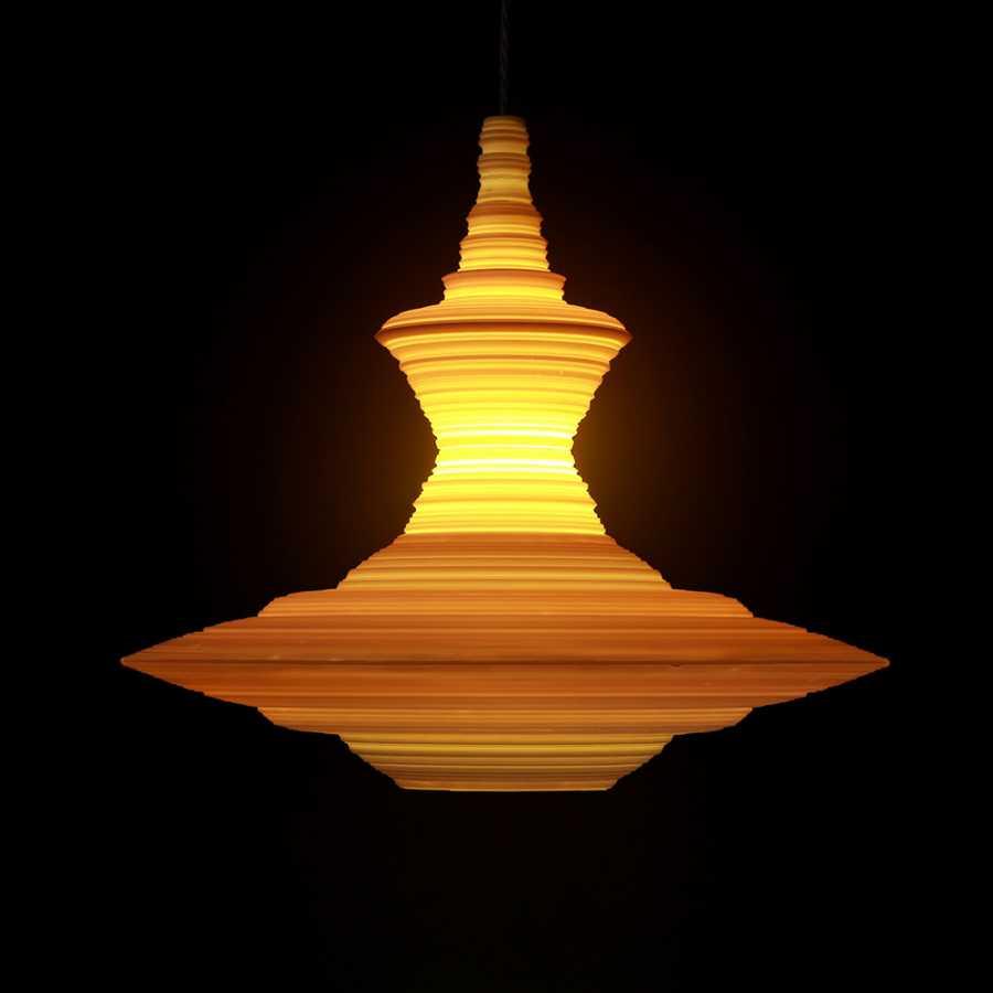 Innermost Stupa Pendant Lights - Large
