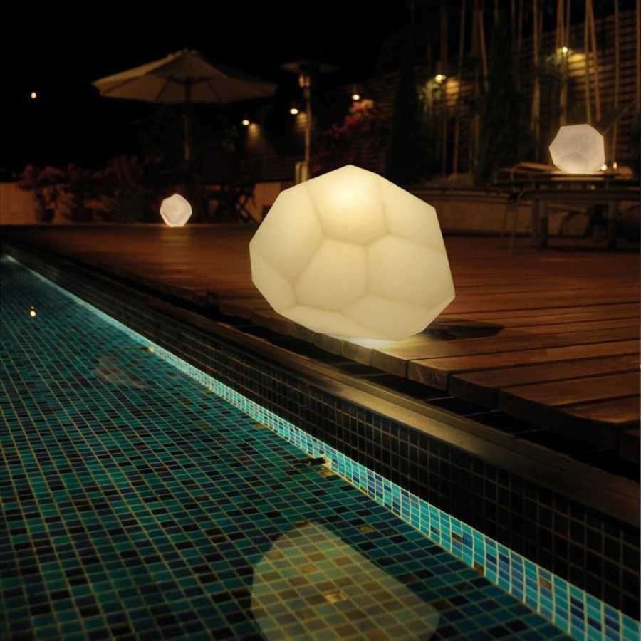 Innermost Asteroid Table Lamps - White