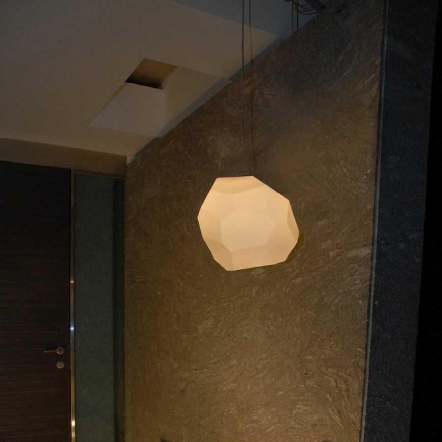 Innermost Asteroid Pendant Light - White