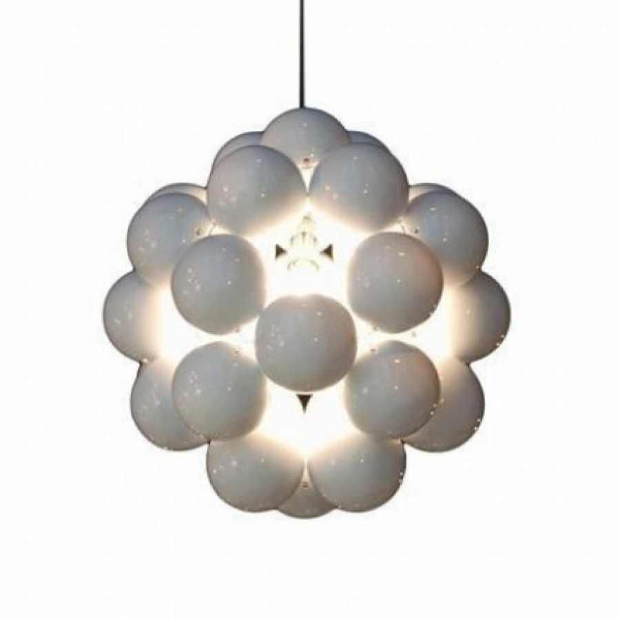 Innermost Beads Penta Pendant - Gloss White
