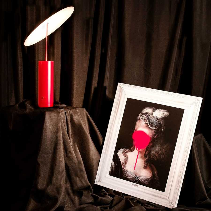 Innermost Parasol Table Lamps - Red