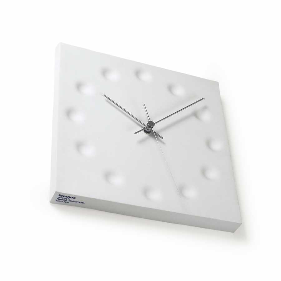 Lemnos The Existance Clock - White