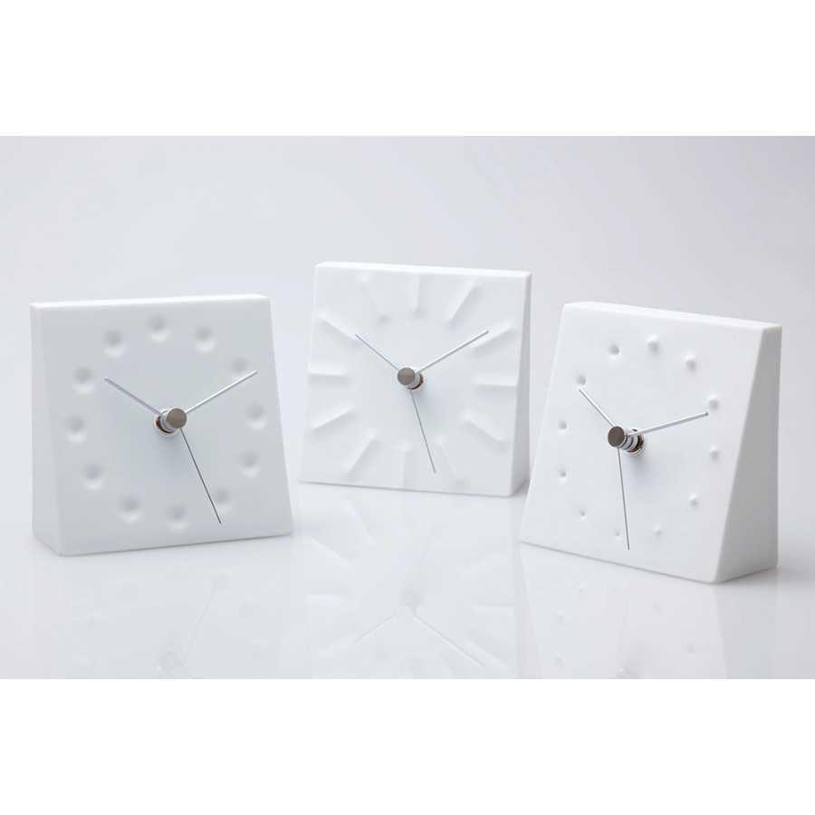 Lemnos Fireworks Table Clock