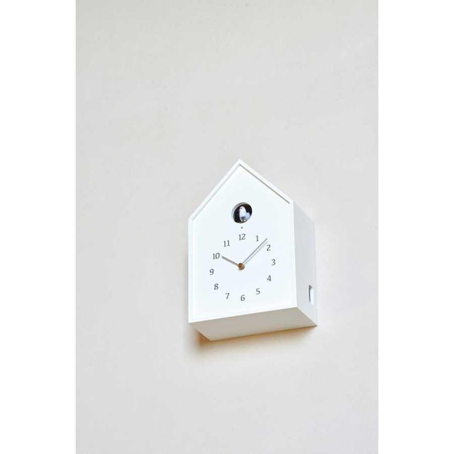 Lemnos Birdhouse Clock