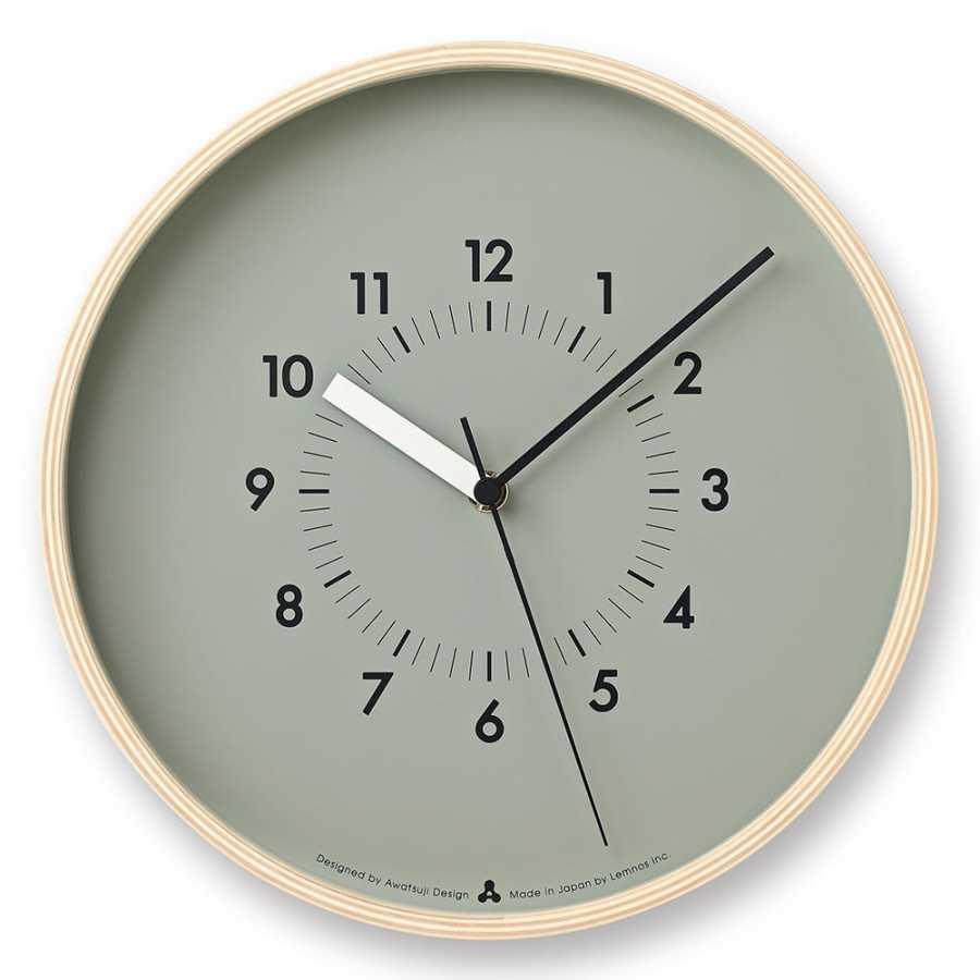 Lemnos Awa Soso Clock - Grey