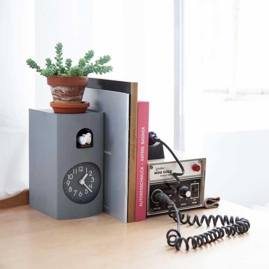 Lemnos Bockoo Clock - Grey