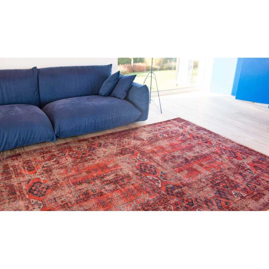 Louis De Poortere Antique Hadschlu Rug - Red Brick