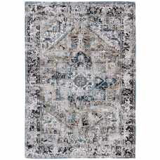 Louis De Poortere Antique Heriz Rug - 8708 Golden Horn Beige
