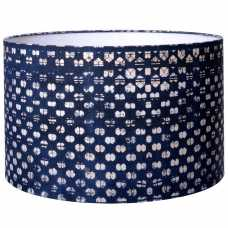 MINDTHEGAP Blauw Drum Lamp Shade