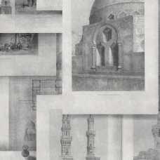 MINDTHEGAP Arabian Monuments Neutral Wallpaper