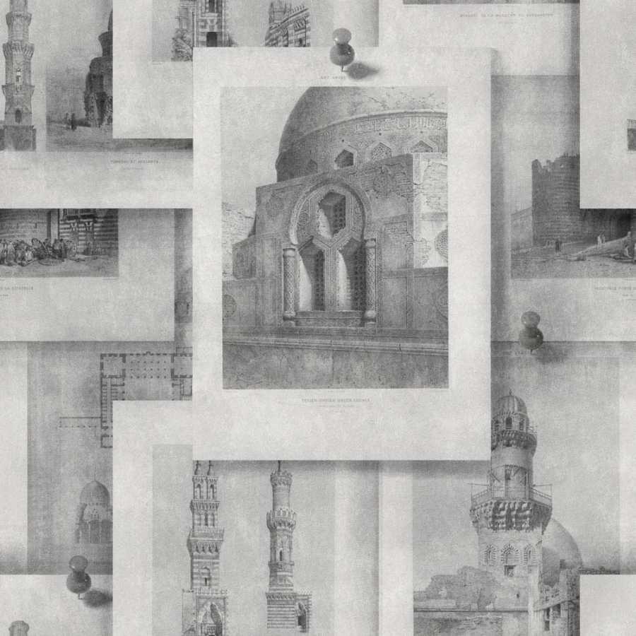 MIND THE GAP Arabian Monuments Neutral Wallpaper