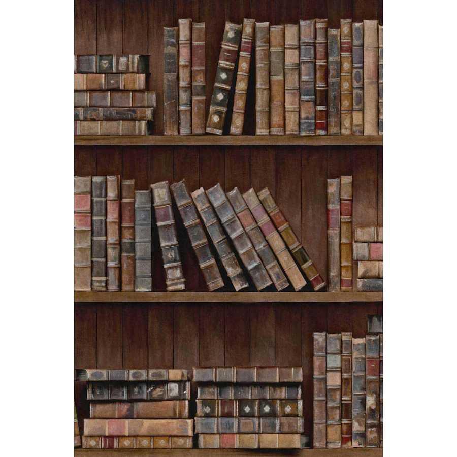 MIND THE GAP Book Shelves Wallpaper