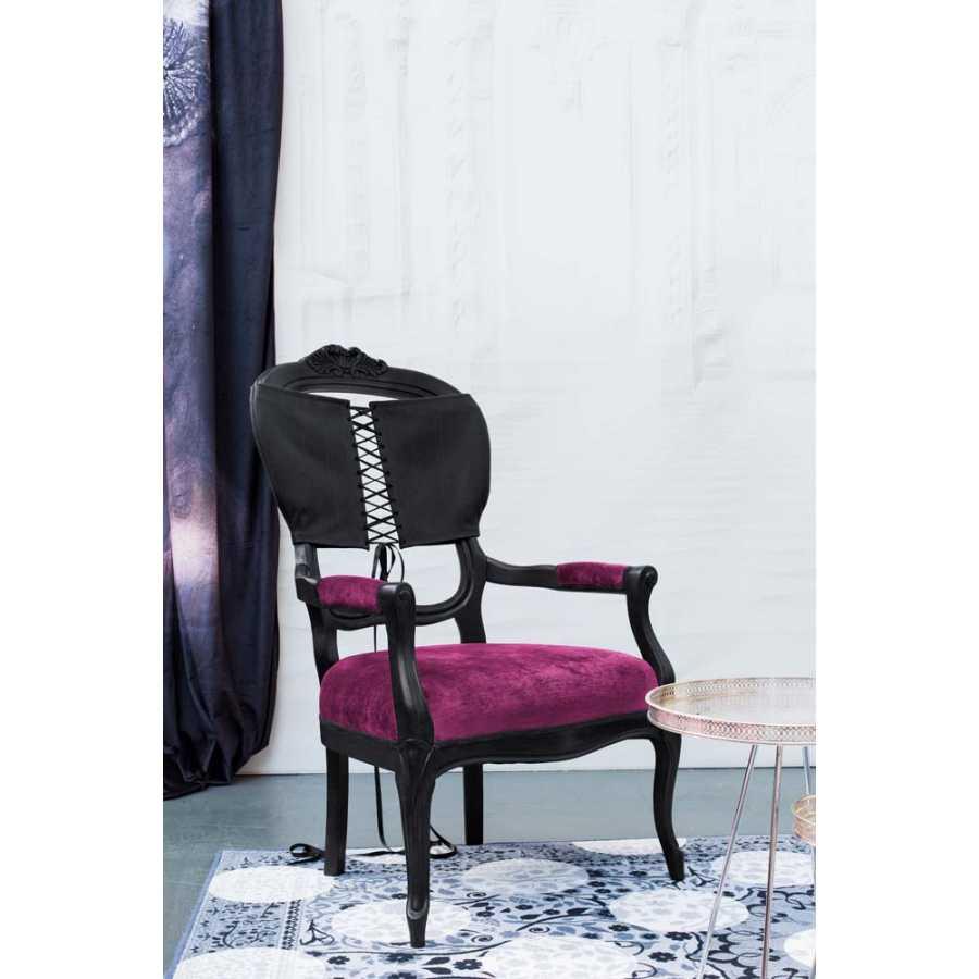 Mineheart Corset Armchairs - Black - Pink