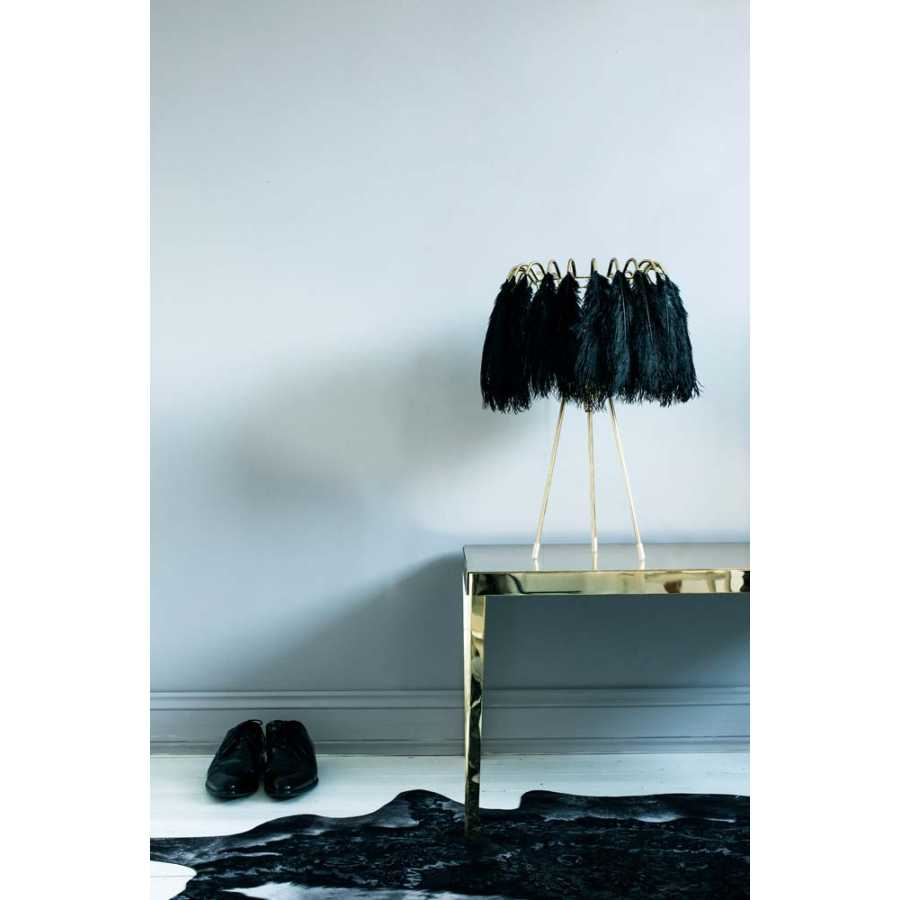 Mineheart Feather Table Lamps - Black