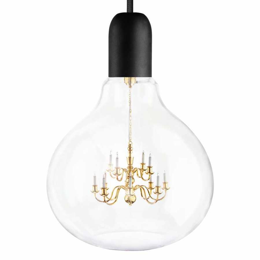 Mineheart King Edison Pendant Lamps - Black