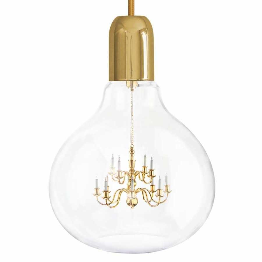 Mineheart King Edison Pendant Lamps - Gold
