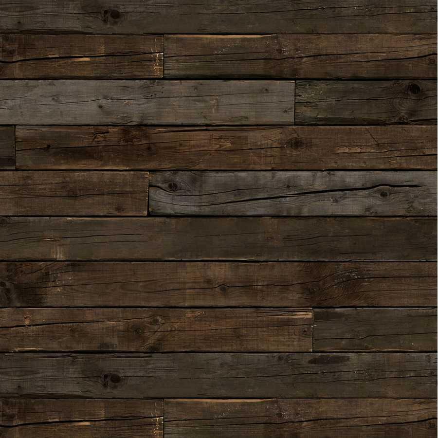 NLXL Scrapwood Brown Beams PHE-10 Wallpaper