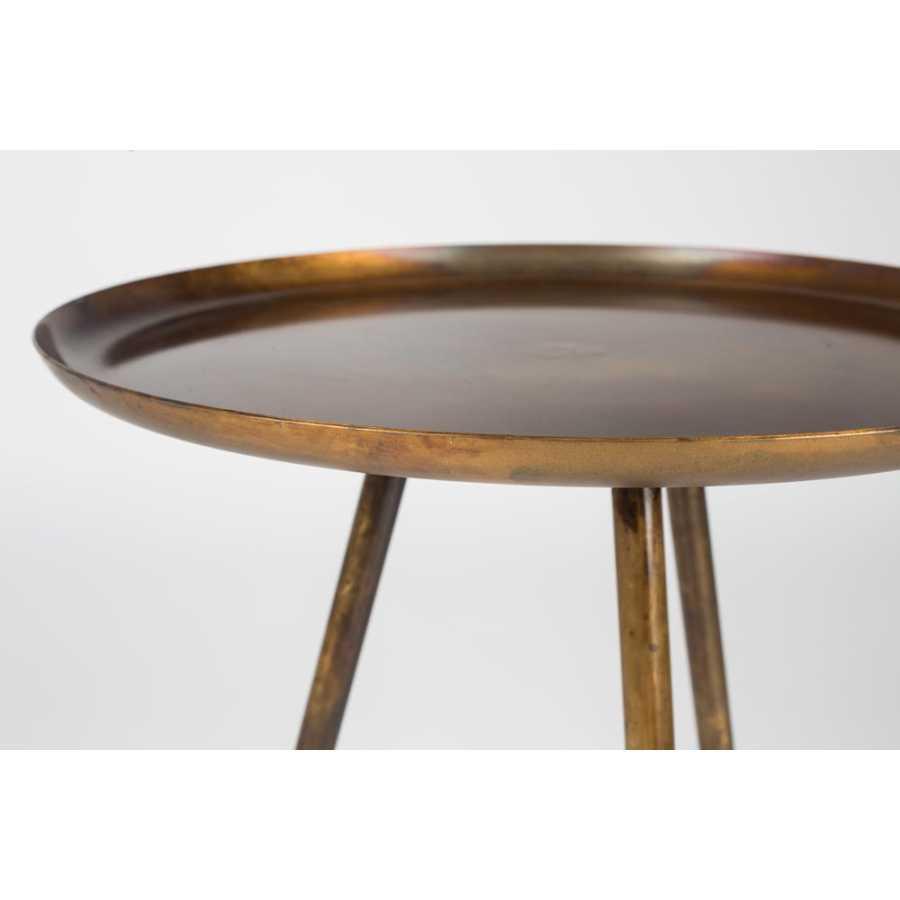 Naken Interiors Frost Side Table - Copper