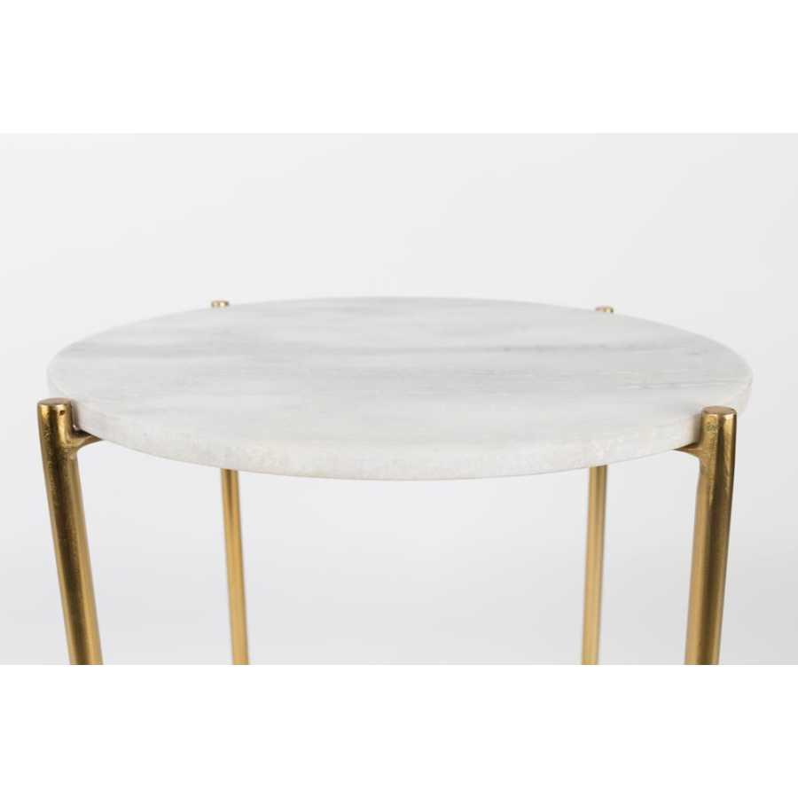 Naken Interiors Timpa Side Tables - White