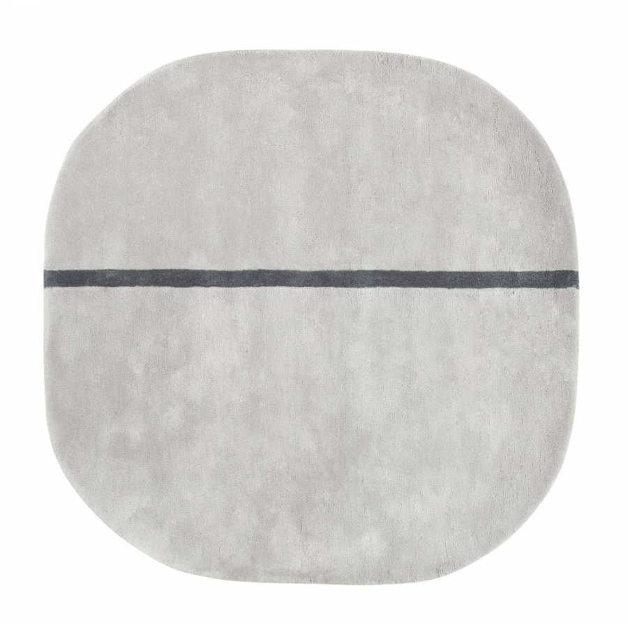 Normann Copenhagen Oona Rug - Grey 140 x 140cm