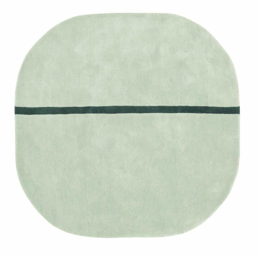 Normann Copenhagen Oona Rug - Mint - 140 x 140cm