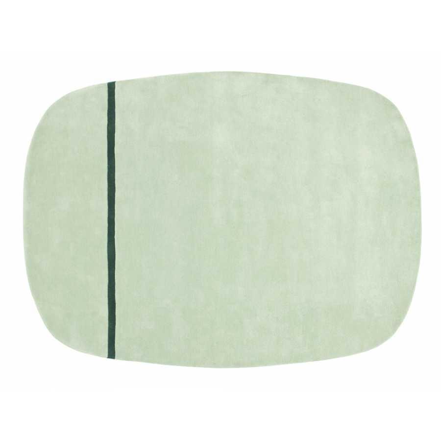 Normann Copenhagen Oona Rug - Mint - 175 x 240cm