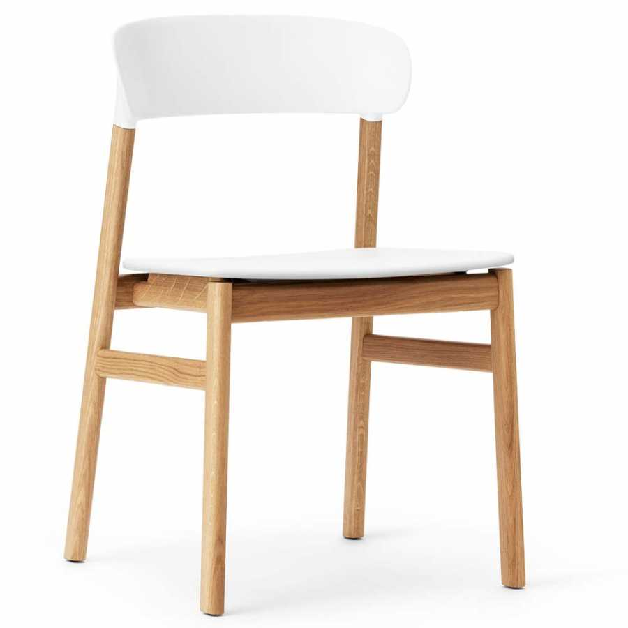 Normann Copenhagen Herit Chair - Oak - White