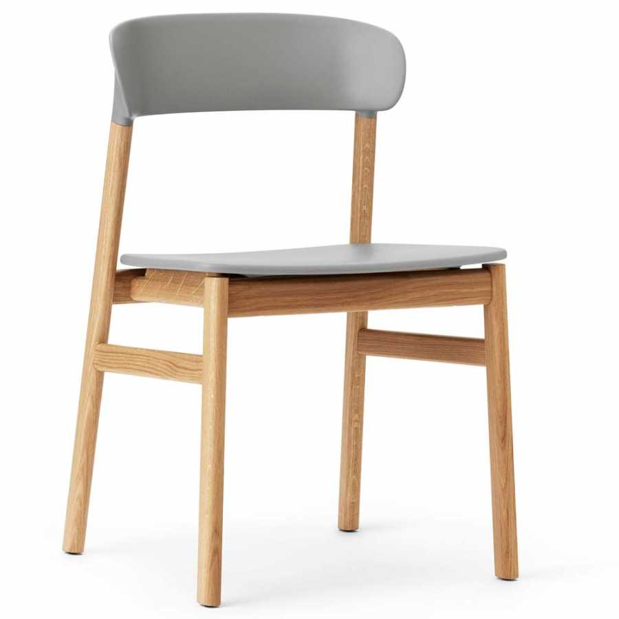 Normann Copenhagen Herit Chair - Oak - Grey