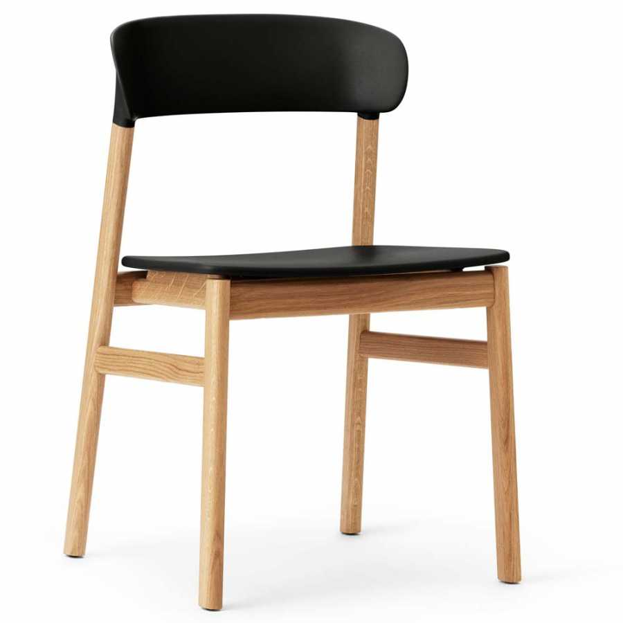 Normann Copenhagen Herit Chair - Oak - Black