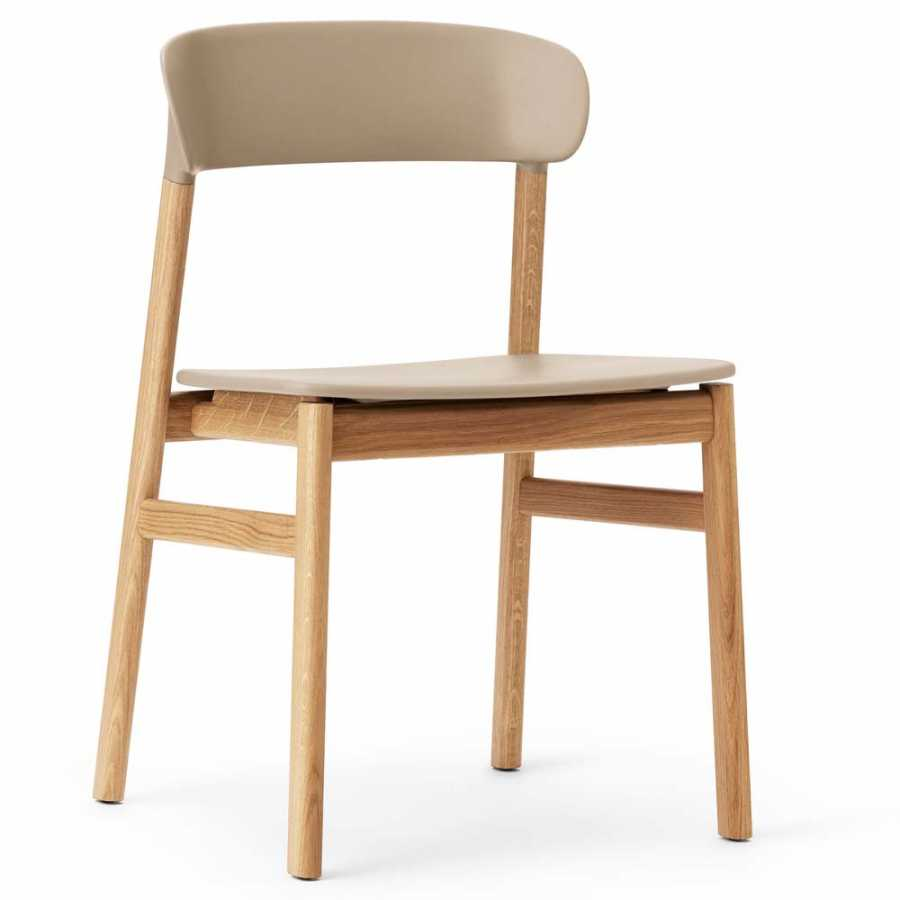 Normann Copenhagen Herit Chair - Oak - Sand