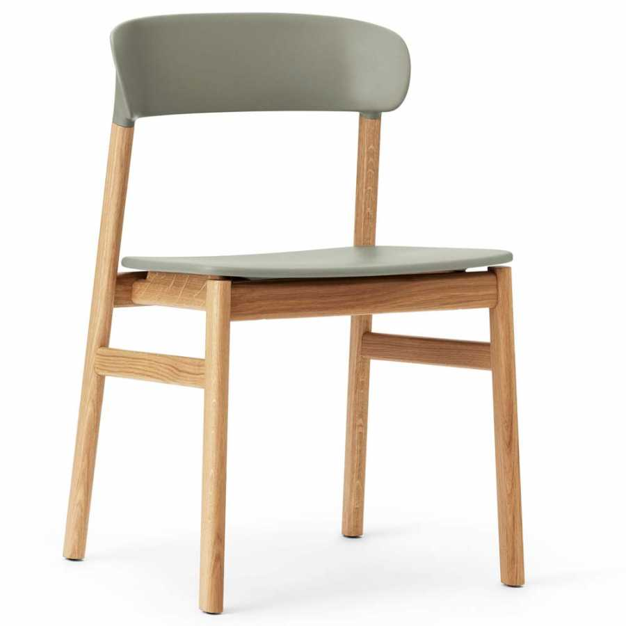 Normann Copenhagen Herit Chair - Oak - Dusty Green