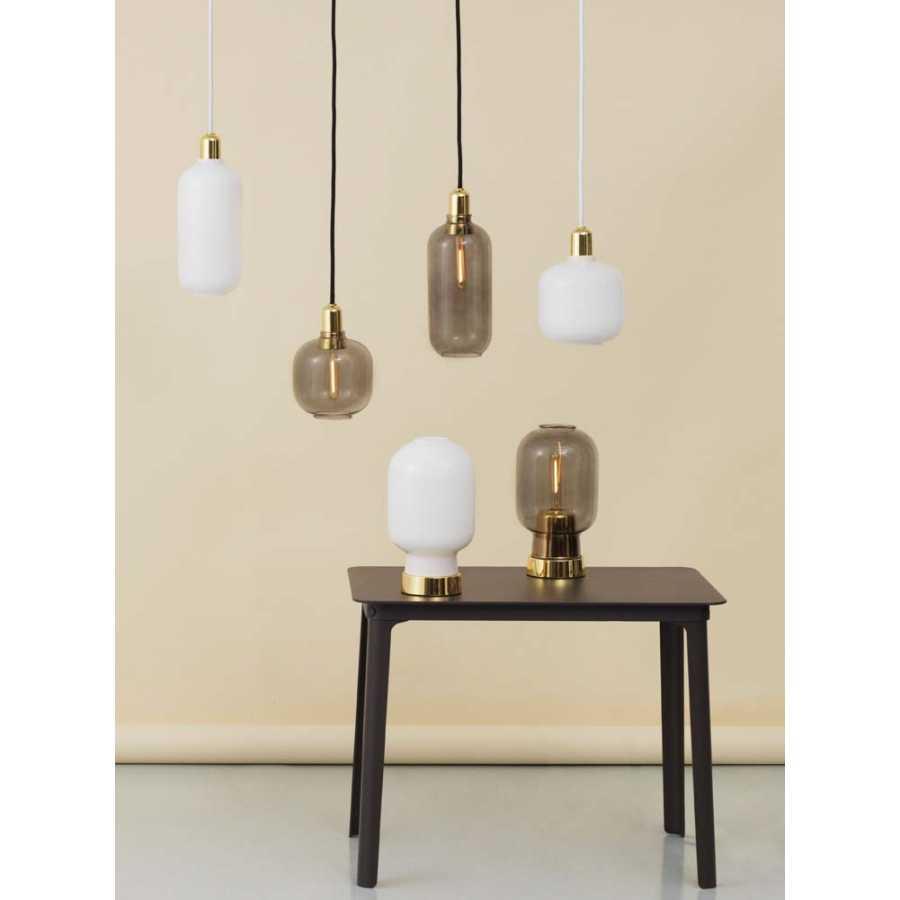Normann Copenhagen Amp Brass Table Lamp