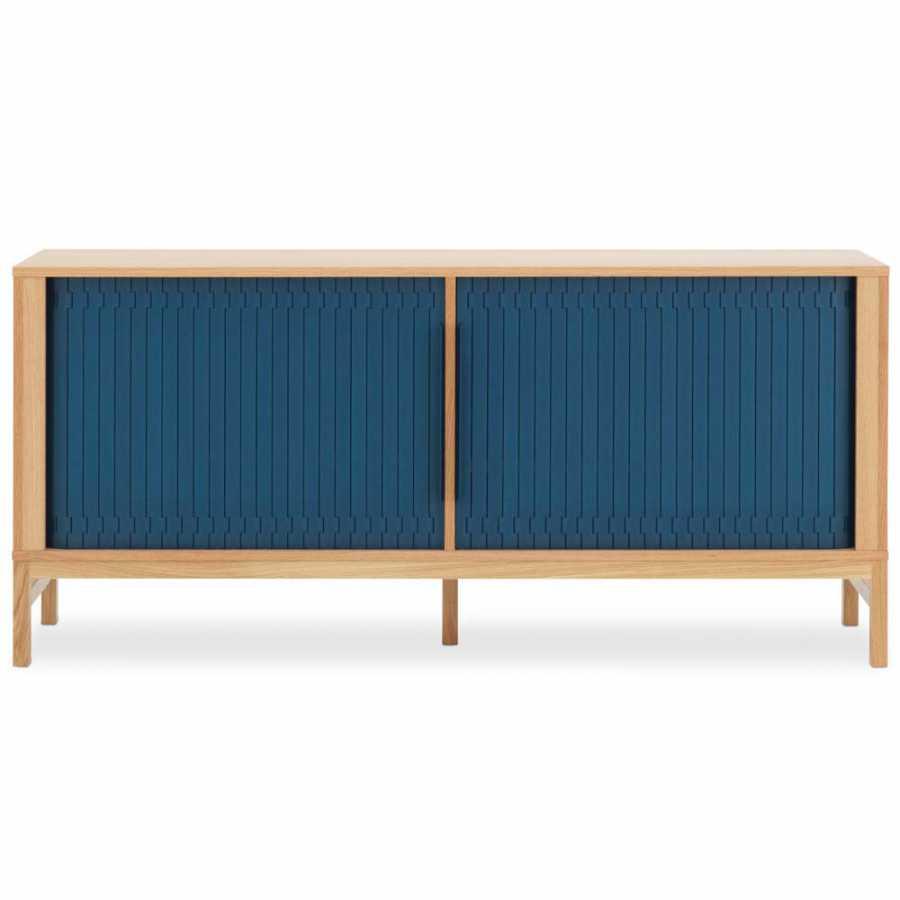 Normann Copenhagen Jalousi Sideboard - Dark Blue
