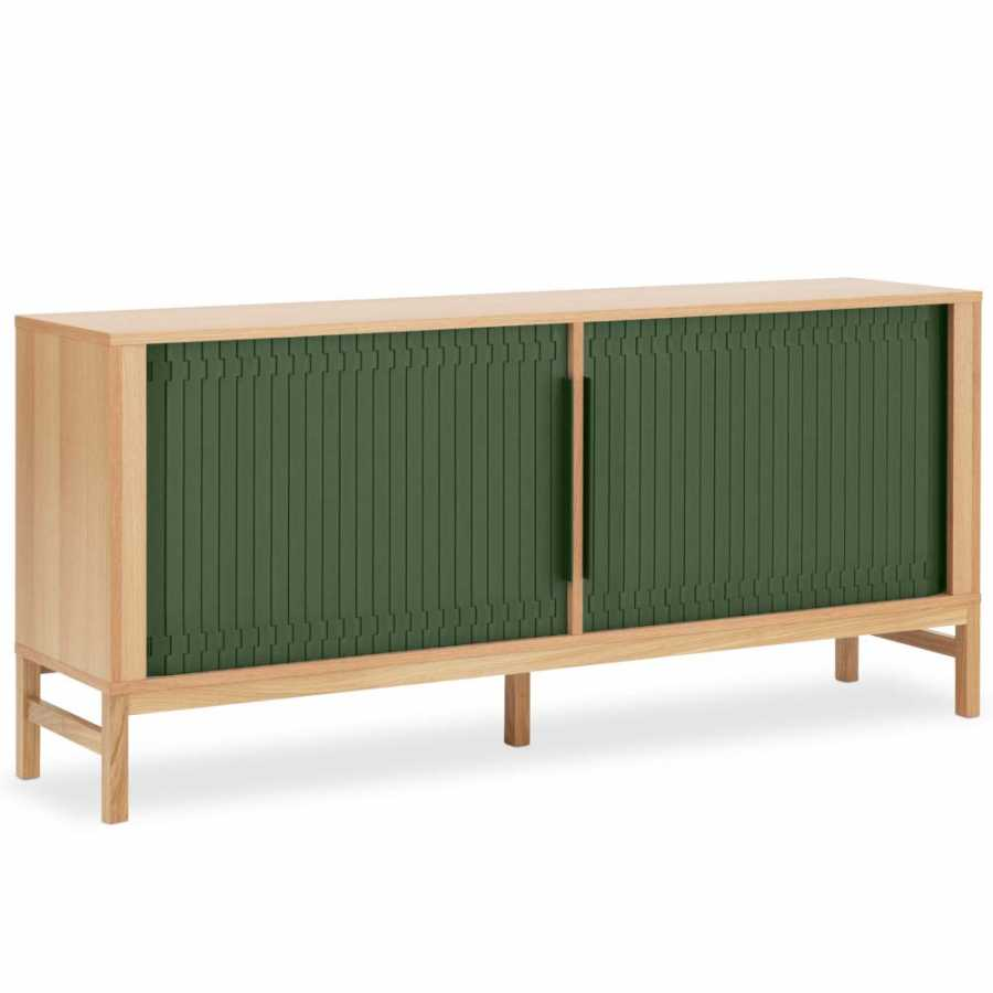 Normann Copenhagen Jalousi Sideboard - Dark Green