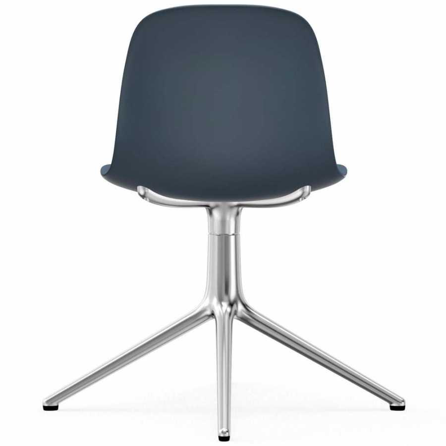 Normann Copenhagen Form Swivel Chair - Aluminium - Blue