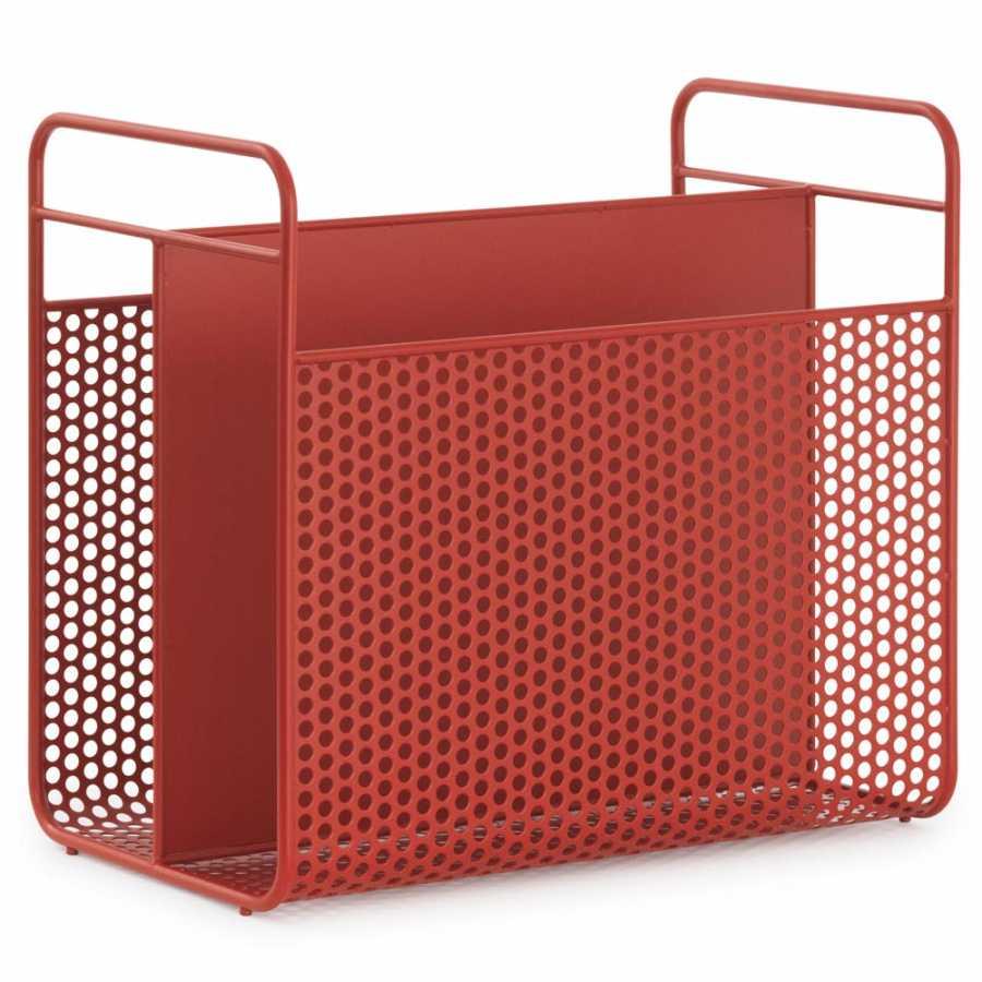 Normann Copenhagen Analog Magazine Racks - Red
