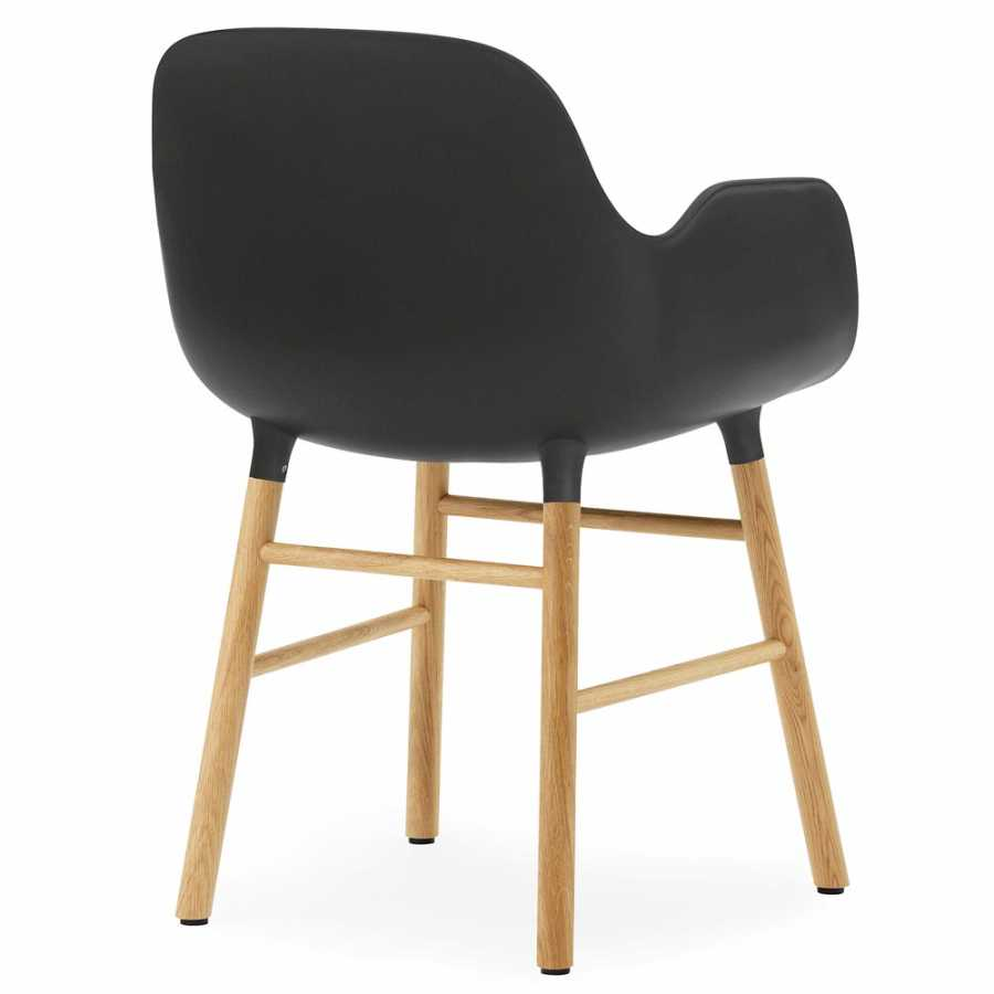 Normann Copenhagen Form Armchair - Oak - Black