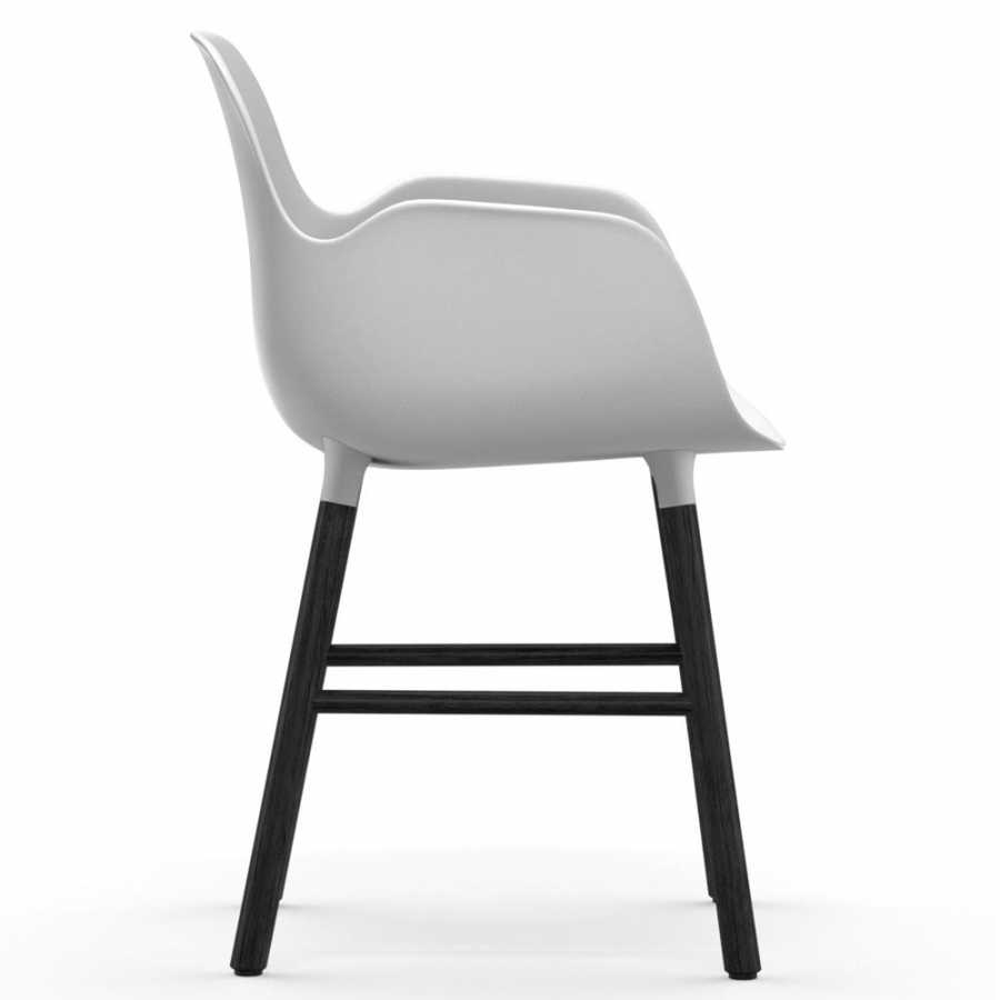 Normann Copenhagen Form Armchair - Black - White