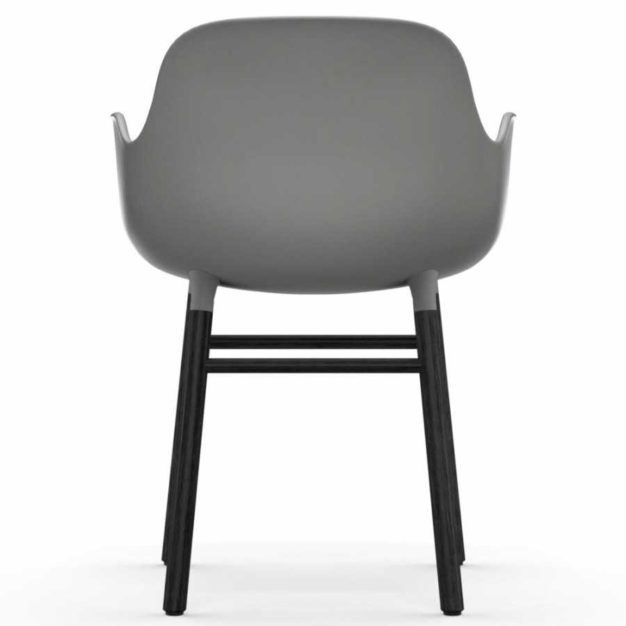 Normann Copenhagen Form Armchair - Black - Grey