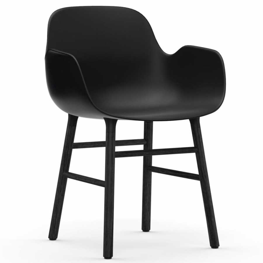 Normann Copenhagen Form Armchair - Black - Black