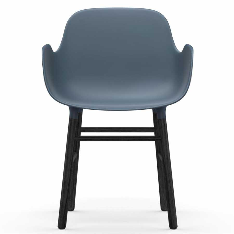 Normann Copenhagen Form Armchair - Black - Blue