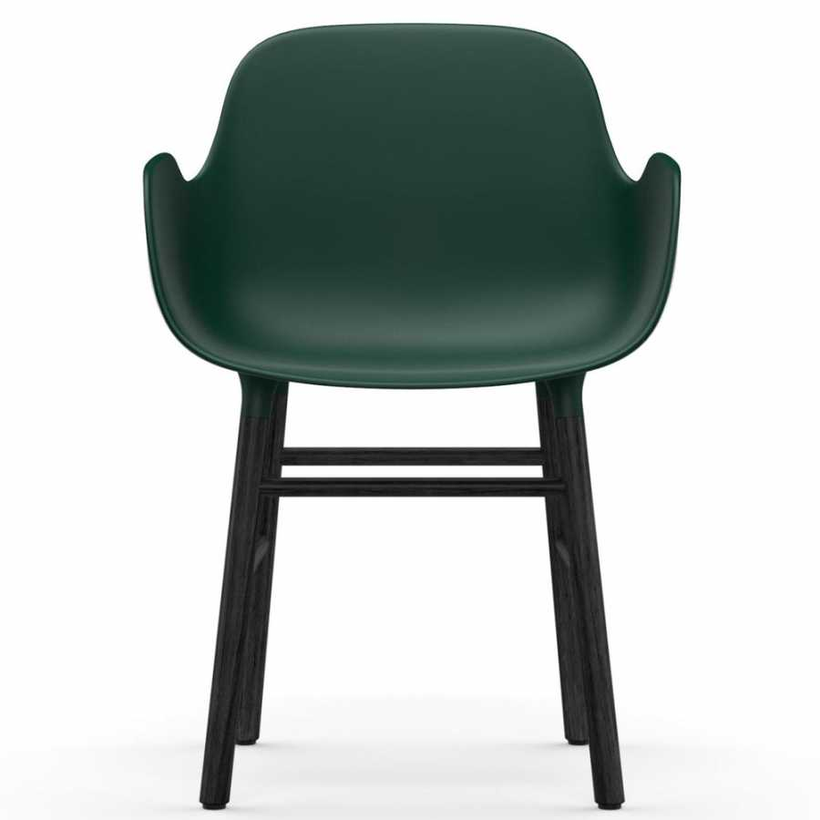 Normann Copenhagen Form Armchair - Black - Green