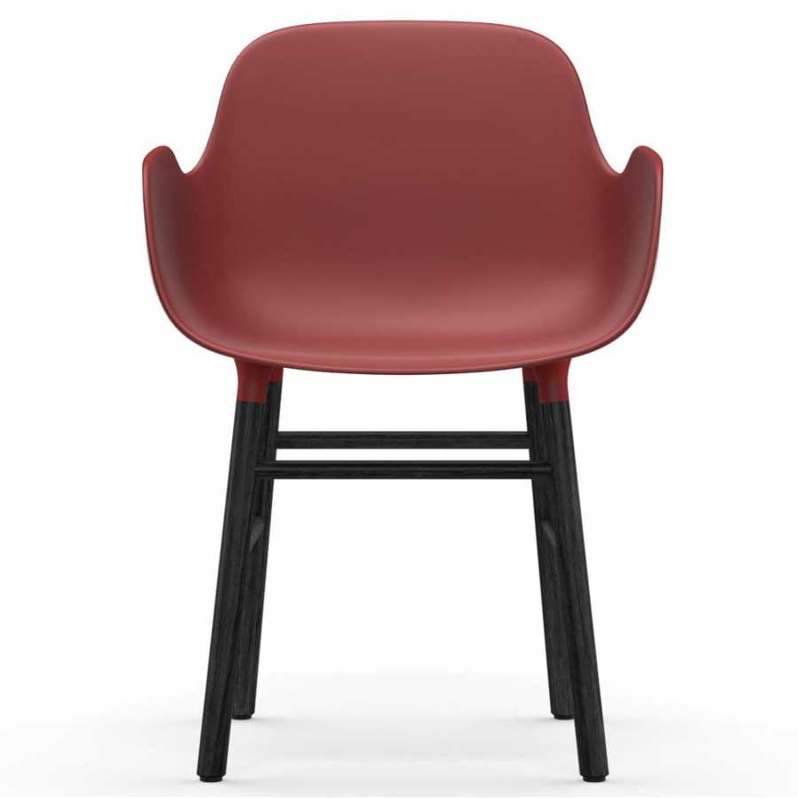 Normann Copenhagen Form Armchair - Black - Red