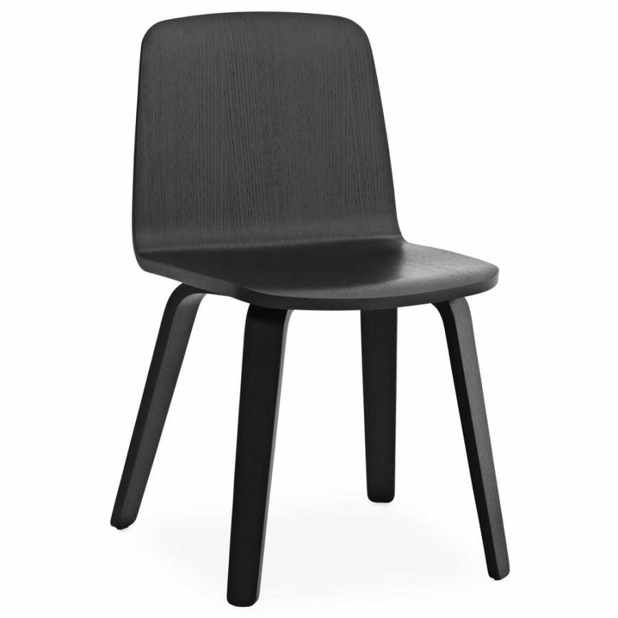 Normann Copenhagen Just Oak Chairs - Black